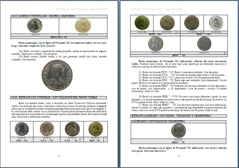 Les boutons civils  (du XVII au XIXeme) Page1