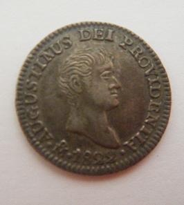 México, 1/2 Real (Iturbide), 1822 [WM n° 7428]. 163011079