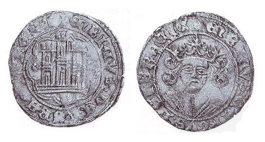 Escudo con girones de Valladolid, variante de cuartillo inédito. 28824133