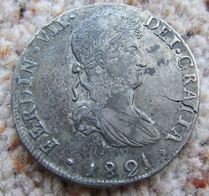 1817 Durango MZ. 8 reales Fernando VII 313329234