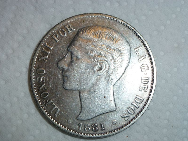 5 pesetas Alfonso XIII 1988 MSM 398458452