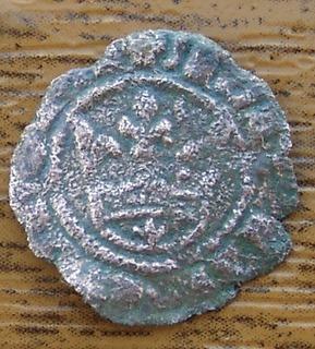 Dinero de María y Martí el Joven, ceca Sicilia (M gótica) 71127891