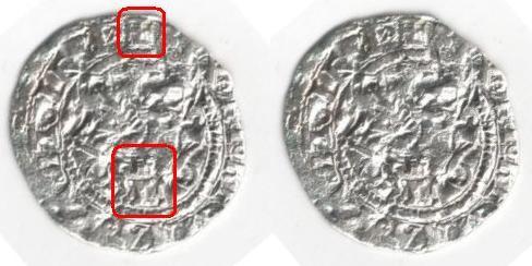 Medio Real a nombre de RRCC (Toledo, 1506-1566) 754863422