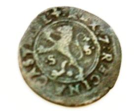 2 Maravedís a nombre de RRCC (Sevilla, 1506-1566) [WM n° 7561] 794332392