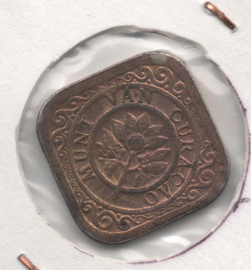 5 centavos de Curaçao de 1948 [KM# 47] 797133500
