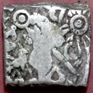 Karshapana, India, Imperio Mauryan, Kumala, Patna 102349105