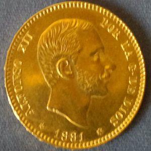 25 Pesetas 1881, *18-*81, MS-M 11674611