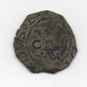 Blanca a nombre de los Reyes Católicos (Cuenca, 1558-1566) ensayador Pedro Román 134582105