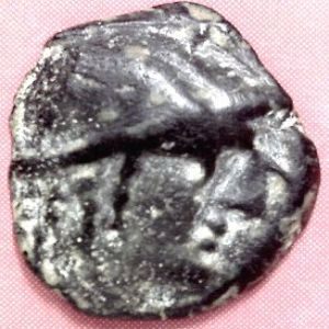 AE 15 del reino de Nabatea, Aretas II 193595370