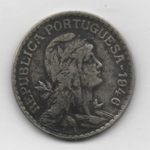 Portugal, 1 escudo, 1946. 20537734