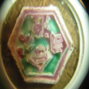 Fichas de juego de porcelana del reino de Siam (Tailandia) 237585284