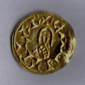 VISIGODOS - Triente de Chintila (636-639) Castilonia (Cástulo) [PUBLICADO REVISTA OMNI n4] 265497392