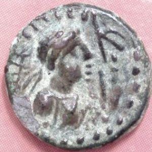 AE Dracma kushan de Soter Megas (80-100 DC) 266960121