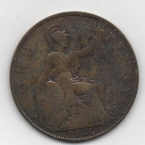 Gran Bretaña - Penique (Pence de Georges V) de Jorge V (1920) [KM 810] 267264877