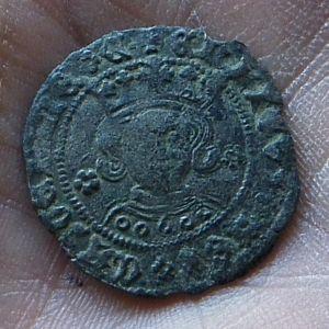 Cuarto de Enrique IV (Sevilla, 1465-1470) serie sin granadas [Roma-Braña 57.3] 279274834