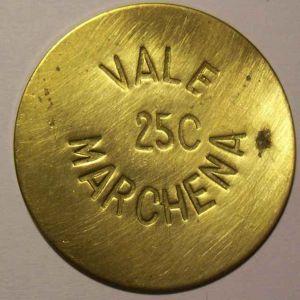 25 Céntimos de Marchena. Latón. Guerra Civil Española. SF. 283264383