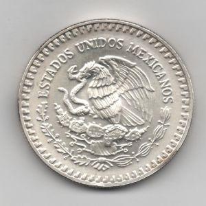 México, 1 Onza de plata, Angel de la libertad, 1992 312135981