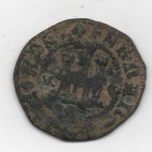 2 Maravedíes a nombre de los RRCC (Cuenca,  circa 1585) 403973230