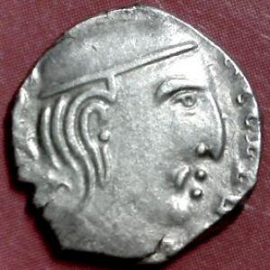 Dracma de Rudrasena III, Satrapas del Oeste, India 423257550