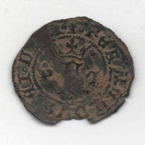Blanca a nombre de los Reyes Católicos (Cuenca, 1506-1566) Ensayador P 44816380