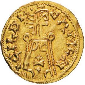 VISIGODOS - Triente de Hermenegildo (579-584) [PUBLICADA REVISTA OMNI Nº 4] 457951061