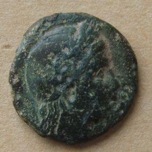 AE 14 de Gambrion, Mysia (Dedicado a Chencho) 506570042
