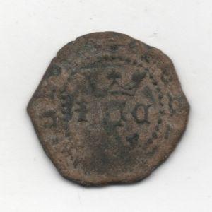 Blanca a nombre de los Reyes Católicos (Cuenca, 1558-1566) ensayador Pedro Román 509518503