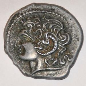 Reproduccion de un tetradracma de Macedonia 528409075