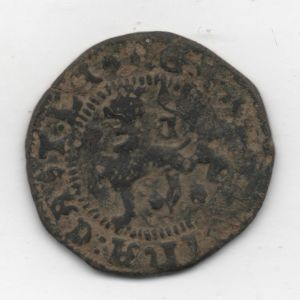 2 Maravedíes a nombre de los RRCC (Cuenca,  circa 1585) 530523247