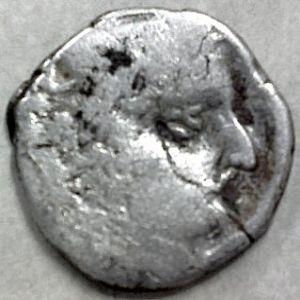 Dracma de Rudrasena II, Satrapas del Oeste, India 530562436