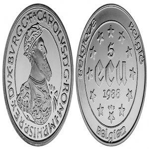 Ecus de Carlos I y 5º de Alemania (y 10 ecu saharauis) 564225529