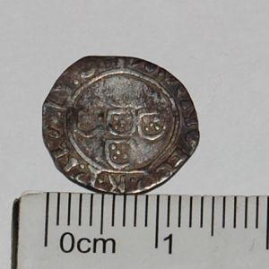 Reino de Portugal - Meio Vintém (10 Reais) de D. Manuel I (1495-1521) 585012881