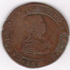 Jeton de Carolus II, 1675 (GECT POVR LE BVREAV DES FIN) 631564815