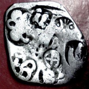 Karshapana del Reino de Magadha (s. VI-321 a.C.) 635523469