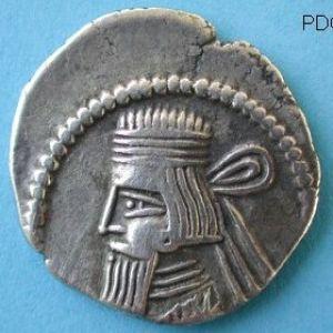 Dracma parto de Artabanus III (80-90 DC) 722984611