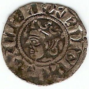 Denier del Comté de Provence, a nombre de Carlos I d'Anjou 783117727