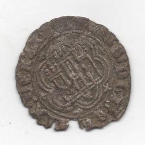 Blanca de Enrique III (Toledo, 1391) [Roma-Braña 6] + agujeros caronte [WM n° 9102] 803951758