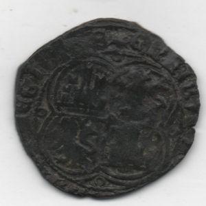 Real de Vellón de Enrique II (4 roeles, 1366-1369) emisiones bélicas [Roma 250, 8] 860948721