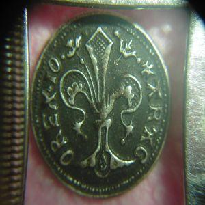 Florín de Juan I. Reproducción en plata 942037066