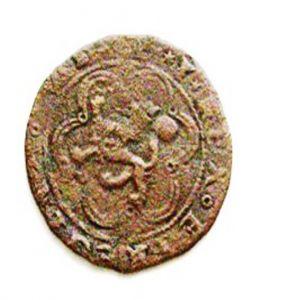 4 maravedís de Cuenca a nombre de los Reyes Católicos. 948785461