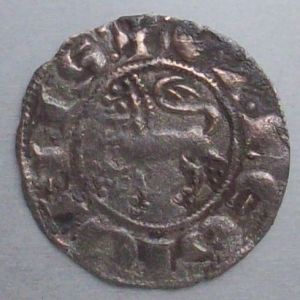 Dinero de Fernando IV (Toledo, 1297) 971756862