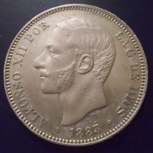VARIANTE 5 pesetas 1883 978864803
