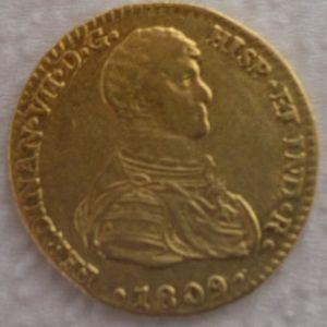 2 Escudos 1809, Sevilla. 995881485