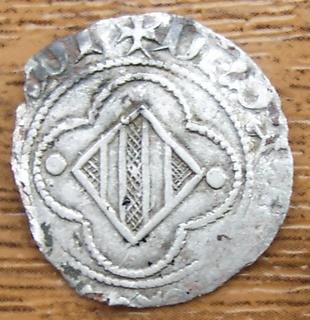 Medio Coronat de Joan I (Perpinyà, 1387-1396) [WM n° 7872] 251080476