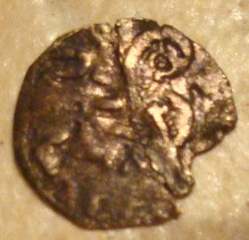 Dinero tipo leonés de Alfonso IX (1216) 275700199