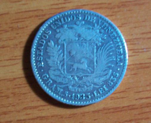 1 Bolivar venezolano de 1935 411307022
