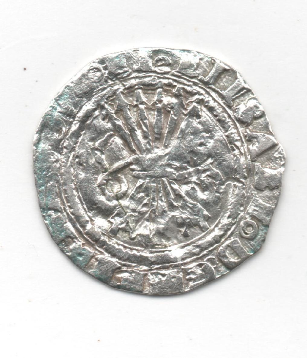 Medio Real a nombre de RRCC (Toledo, 1506-1566) 618720696