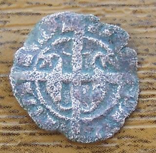 Dinero de María y Martí el Joven, ceca Sicilia (M gótica) 680657089