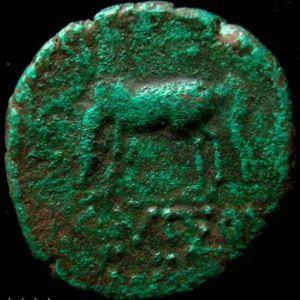 AE 22 de Amisos, Pontos (bajo reinado de Mithrades VI) 208118074