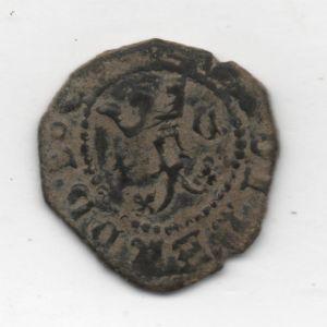 Blanca a nombre de RRCC (Cuenca, 1506-1566) ensayador Pedro Román [WM n° 6637] 267059068